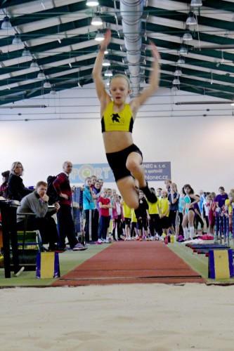 Kateřina Kadavá a rekordných - 430 cm